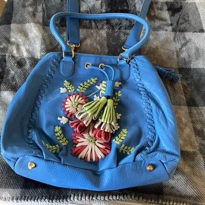 NWT Isabella Fiore floral crossbody